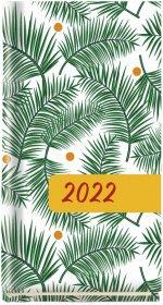 Kalendarz kieszonkowy MiP 2022, Koliber T-320F-02, 75x130 mm, tygodniowy, 64 kartki
