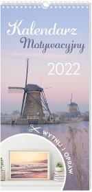 Kalendarz ścienny motywacyjny Interdruk 2022, 22x46cm, miesięczny, Widoki