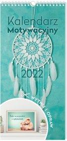 Kalendarz ścienny motywacyjny Interdruk 2022, 22x46cm, miesięczny, Cytaty