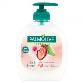 Mydło w płynie Palmolive, z dozownikiem, mleko i migdały, 300ml (c)