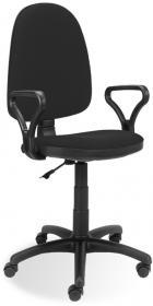 Krzesło obrotowe Nowy Styl Prestige, profil GTP, czarny