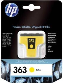 Tusz HP 363 (C8773EE), 500 stron, yellow (żółty)
