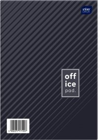 Blok biurowy w kratkę Interdruk, A4, 100 kartek, mix wzorów