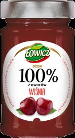 Dżem Łowicz 100% z owoców, wiśniowy, 220g