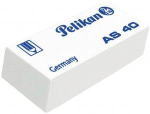 Gumka ołówkowa Pelikan AS 40, biały