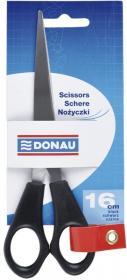 Nożyczki biurowe Donau, 16 cm, czarny