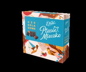 Bombonierka Wedel Ptasie Mleczko, czekoladowy, 380g