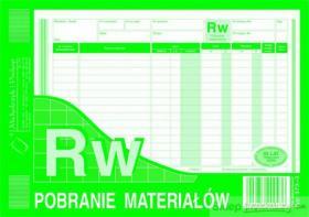 Druk akcydensowy RW Pobranie materiałów MiP, A5, wielokopia, 80k