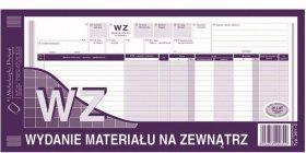 Druk akcydensowy WZ Wydanie materiału na zewnątrz MiP, 1/3 A3, wielokopia, 80k