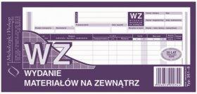 Druk akcydensowy WZ Wydanie materiałów na zewnątrz MiP, 1/3 A4, wielokopia, 80k