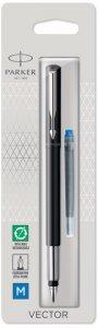 Pióro wieczne Parker, Vector Standard, F,  0.7mm, czarny