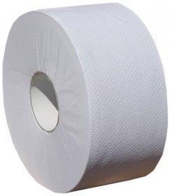 Papier toaletowy Merida Jumbo Klasik, 1-warstwowy, 1 rolka, 9cmx220m, biały