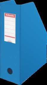 Pojemnik PCV na dokumenty składany Esselte, A4, 100mm, do 1000 kartek, niebieski