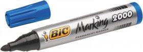 Marker permanentny Bic 2000, okrągła, 4.95mm, niebieski