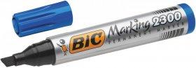 Marker permanentny Bic NB2300, ścięta, 5.5mm, niebieski