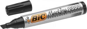 Marker permanentny Bic NB2300, ścięta, 5.5mm, czarny