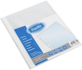 Koszulki groszkowe Bantex, A5, 45 µm, 100 sztuk, transparentny