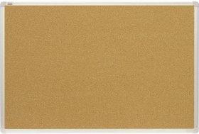 Tablica korkowa, 2x3, w ramie aluminiowej, 40x60cm, brązowy