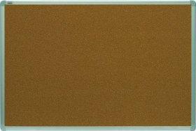 Tablica korkowa, 2x3, w ramie aluminiowej, 120x90cm, brązowy