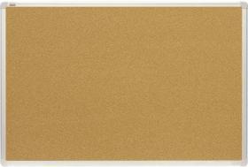 Tablica korkowa, 2x3, w ramie aluminiowej, 180x120cm, brązowy