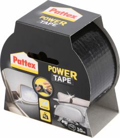 Taśma naprawcza Pattex Power Tape, supermocna, 48mm x 10m, czarny