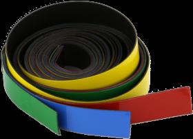 Paski magnetyczne 2x3, 4 sztuki, mix kolorów