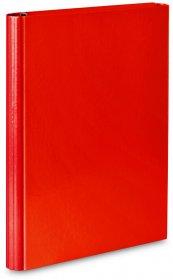 Teczka skrzydłowa VauPe, A4, 40mm, na rzep, czerwony