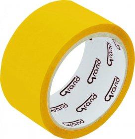Taśma pakowa, Grand, 48mmx50yd, żółty
