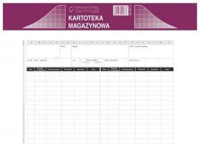 Druk akcydensowy Kartoteka magazynowa MiP, A5, offsetowy, 50k