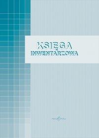 Druk akcydensowy Księga inwentarzowa MiP,  A4, offsetowy, 96k