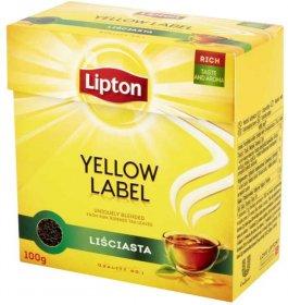 Herbata czarna liściasta Lipton, 100g
