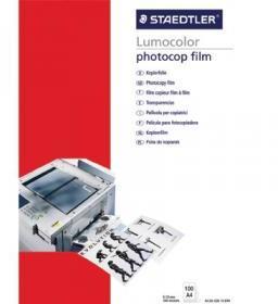 Folia do nadruku Staedtler, do kserokopiarek, A4, z paskiem, 636 DT5, 100 arkuszy