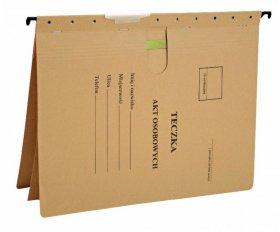 Skoroszyt zawieszany Esselte, do akt osobowych, A4, 348x268mm, 230g/m2, brązowy