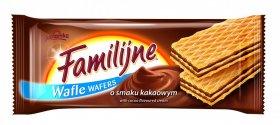 Wafle Familijne, kakaowy, 180g