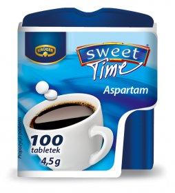 Słodzik Krüger Sweet Time, w tabletkach, 4.5g, 100 sztuk