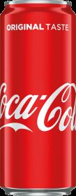 Napój gazowany Coca-Cola, puszka Sleek, 0.33l