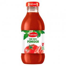 Sok pomidorowy Fortuna, butelka szklana, 0.3l