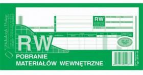 Druk akcydensowy RW Pobranie materiałów wewnętrzne MiP, 1/3 A4, wielokopia, 80k