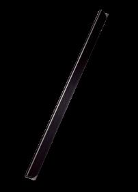 Grzbiety wsuwane Leitz, 3mm, do 30 kartek, 50 sztuk, czarny