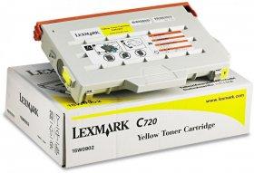 Toner Lexmark (15W0902Y), 7200 stron, yellow (żółty)