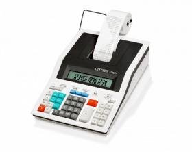 Kalkulator drukujący Citizen 350DP, 14 cyfr, biały