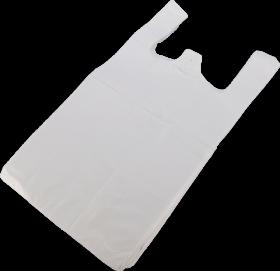 Reklamówki plastikowe Sarantis, 30x55 cm, 100 sztuk, bezbarwny
