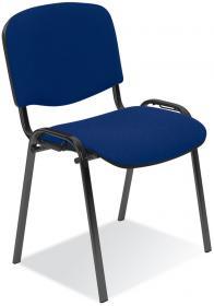 Krzesło biurowe Nowy Styl Iso Black, niebieski