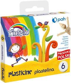 Plastelina Fiorello, 96g, 6 kolorów