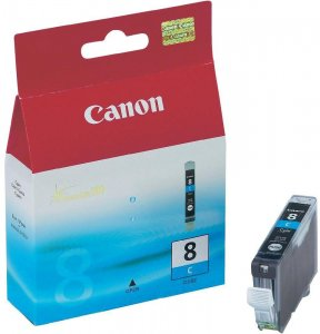 Tusz Canon 0621B001 (CLI-8C), 420 stron, cyan (błękitny)