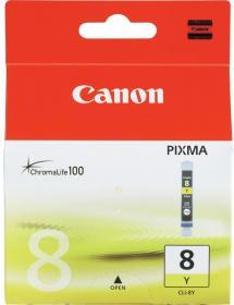 Tusz Canon 0623B001 (CLI-8Y), 420 stron, yellow (żółty)