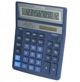 Kalkulator biurowy Citizen SDC-888X, 12 cyfr, niebieski