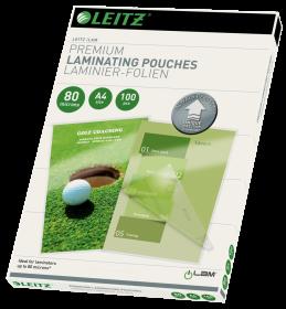 Folia do laminacji Leitz, UDT, A4, 2x80 µm, 100 sztuk
