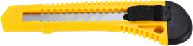 Nożyk z wymiennym ostrzem, Centrum, 18mm, żółty