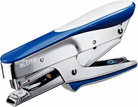 Zszywacz nożycowy Leitz 5545, do 15 kartek, niebieski